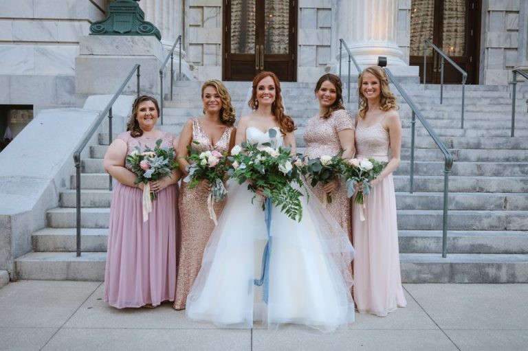 ybor city museum wedding bridal party