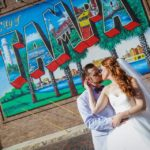ybor city museum wedding couple tampa