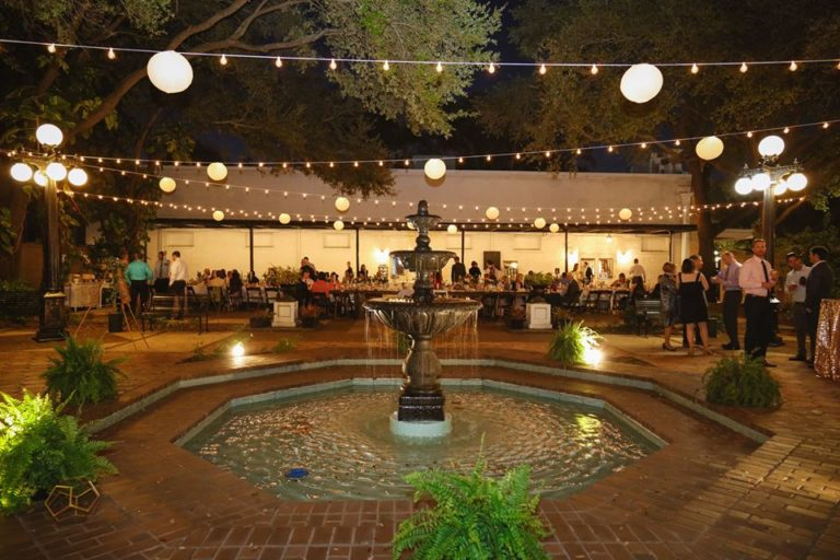 Ybor City Museum Wedding Reception Night