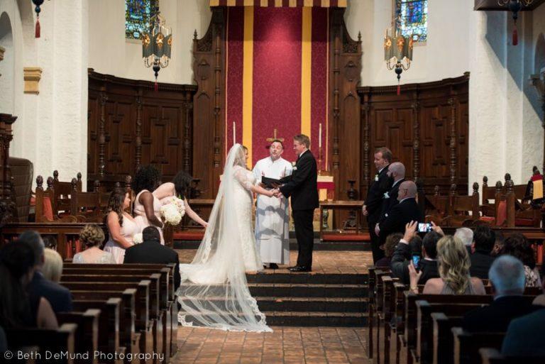 Ballroom at Church Street Wedding ceremony