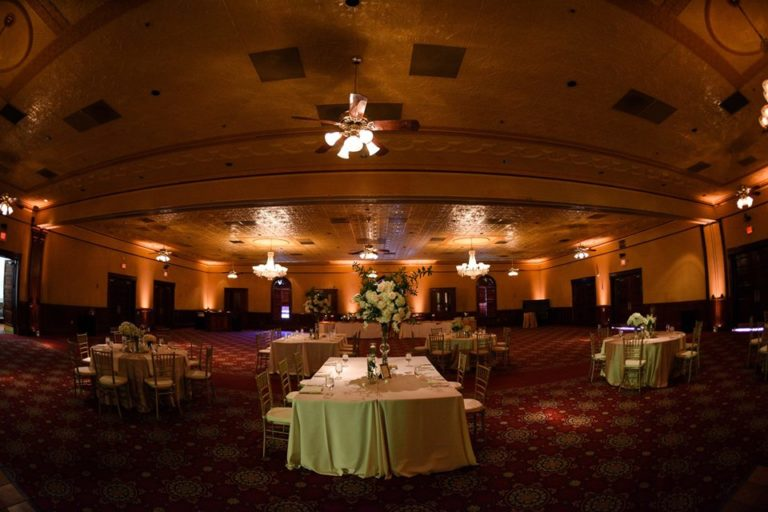 Ballroom at Church Street Wedding chiavari chairs
