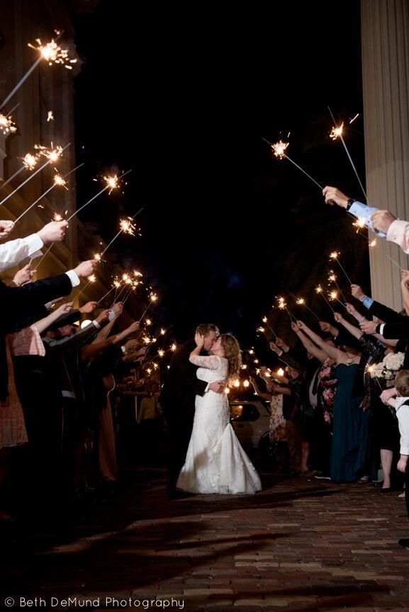 Ballroom at Church Street Wedding send off