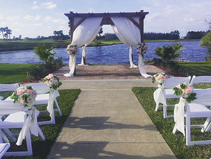Daytona Beach Wedding Venue LPGA International Wedding Reception 3