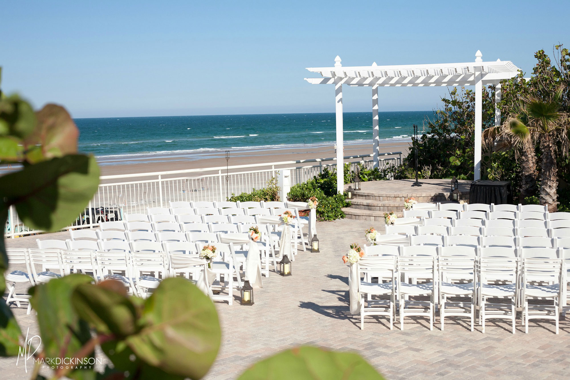 the daytona beach wedding venue of your dreams a chair
