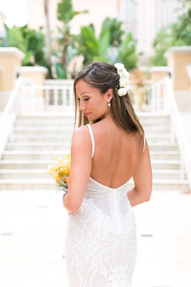 Orlando Grande Lakes Wedding bride A Chair Affair