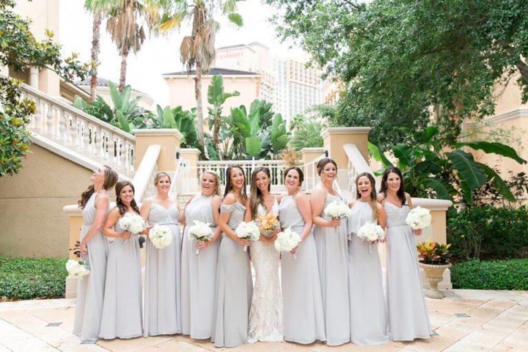 Orlando Grande Lakes Wedding bridesmaids A Chair Affair