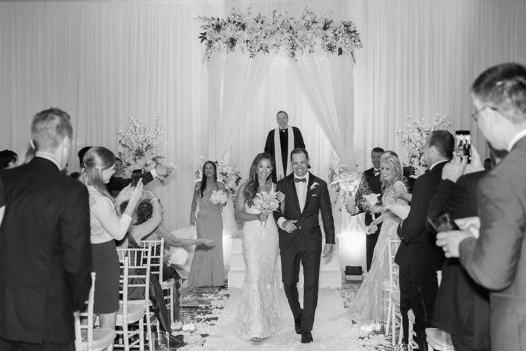 Orlando Grande Lakes Wedding ceremony A Chair Affair