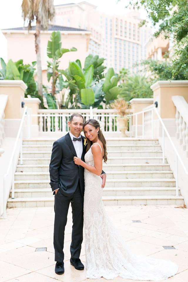 Orlando Grande Lakes Wedding couple A Chair Affair