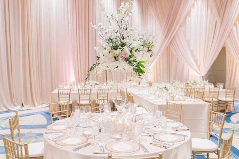 Orlando Grande Lakes Wedding gold chiavari chairs A Chair Affair