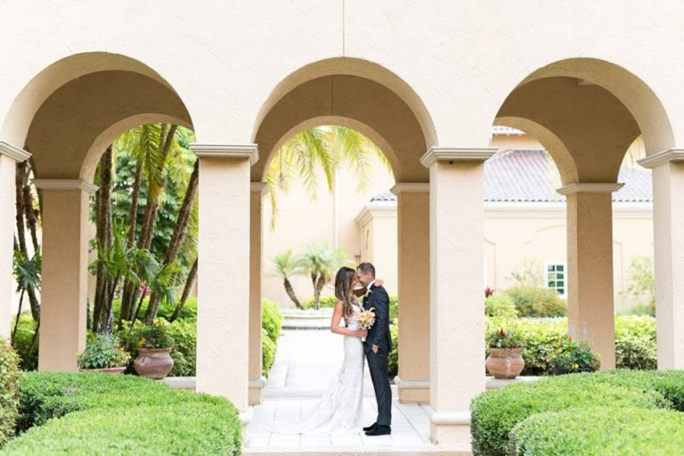 Orlando Grande Lakes Wedding newlyweds A Chair Affair