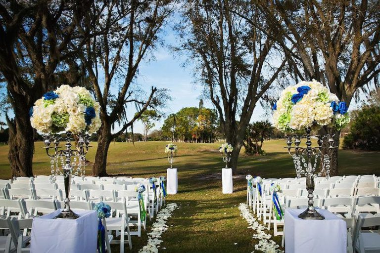 St. Petersburg Wedding Countryside Country Club 1 A Chair Affair