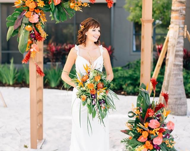 Grove Resort: Beach Wedding Inspiration in Central Florida