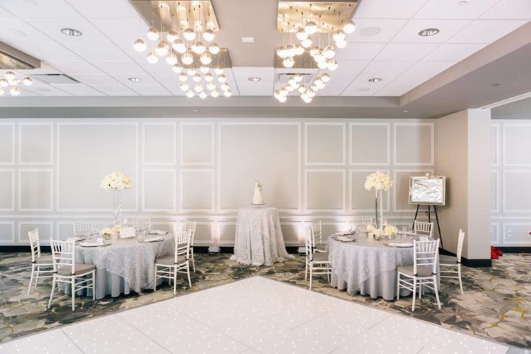 beach wedding inspiration chiavari chairs