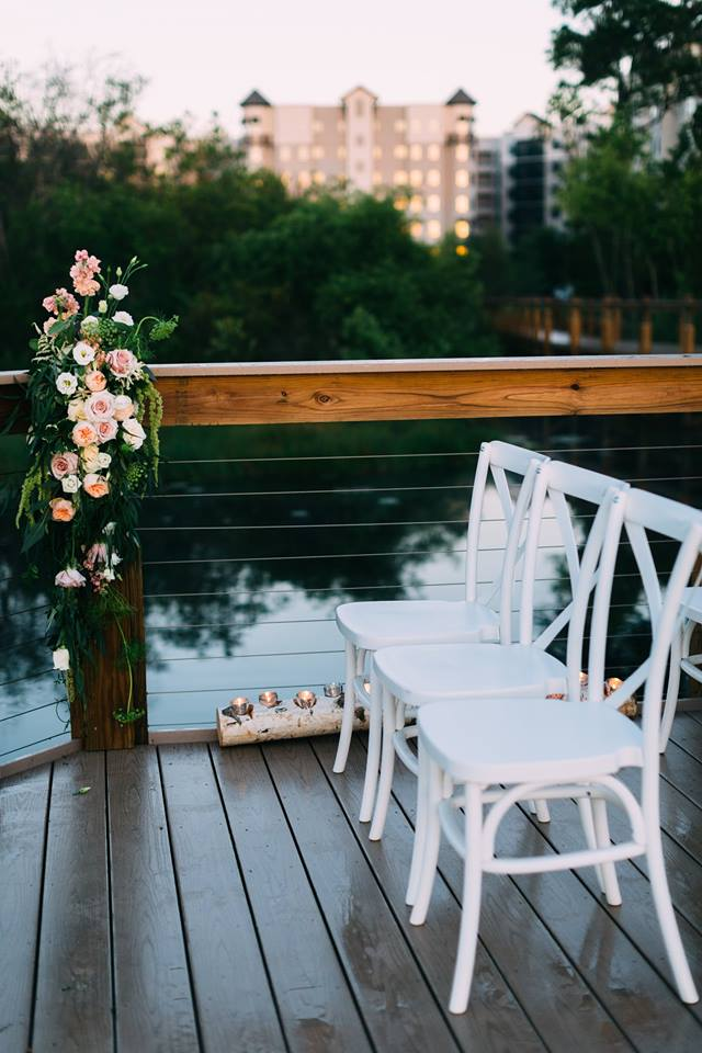beach wedding inspiration french country chairs