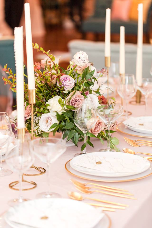 Luxmore Grande Estate wedding trends A Chair Affair stemware