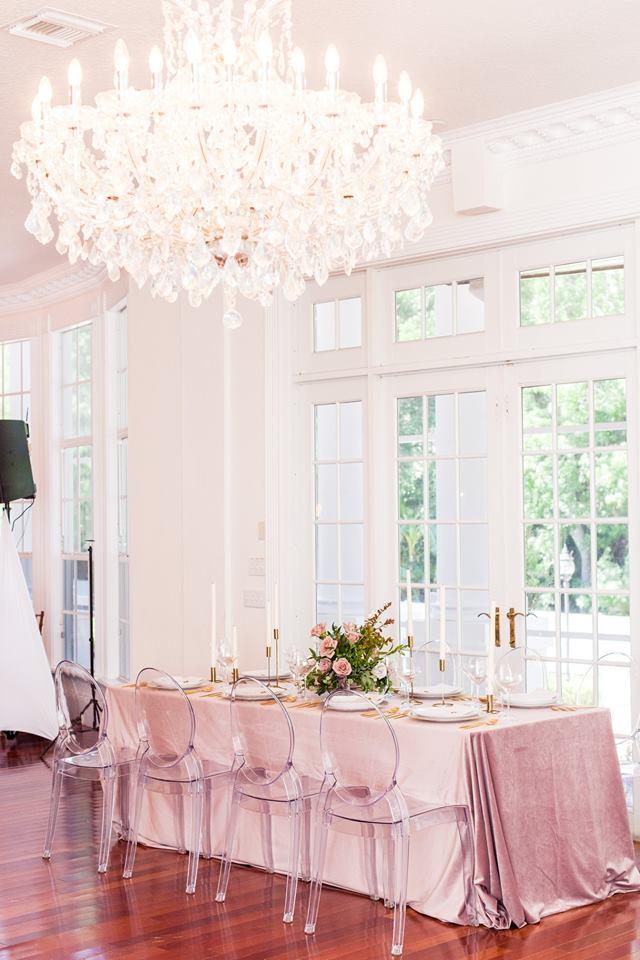 Luxmore Grande Estate wedding trends A Chair Affair ghost chair