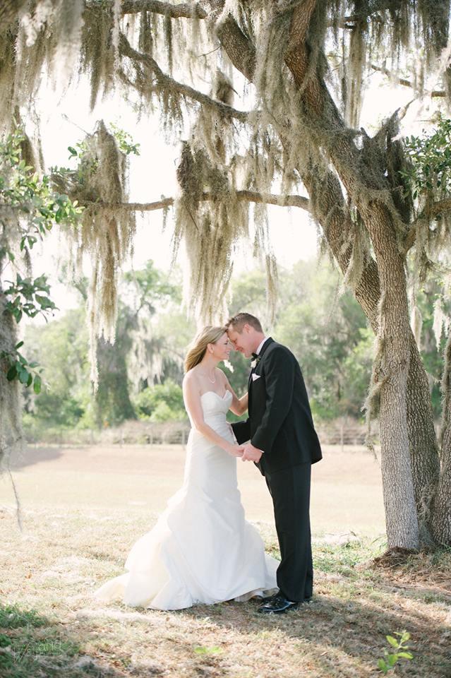 Bartow Tent Wedding A Chair Affair couple