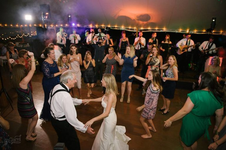 Bartow Tent Wedding A Chair Affair dancing