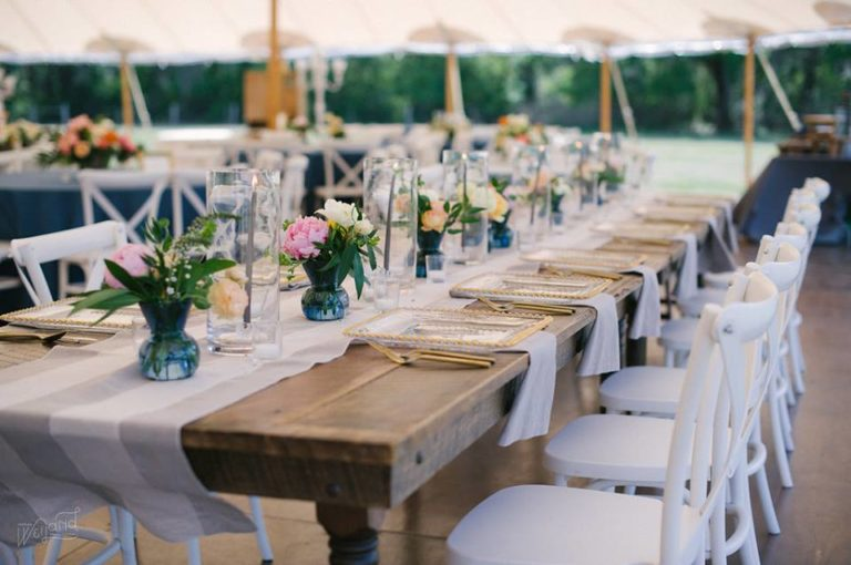 Bartow Tent Wedding A Chair Affair french country chairs