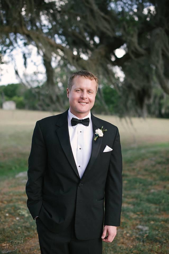 Bartow Tent Wedding A Chair Affair groom
