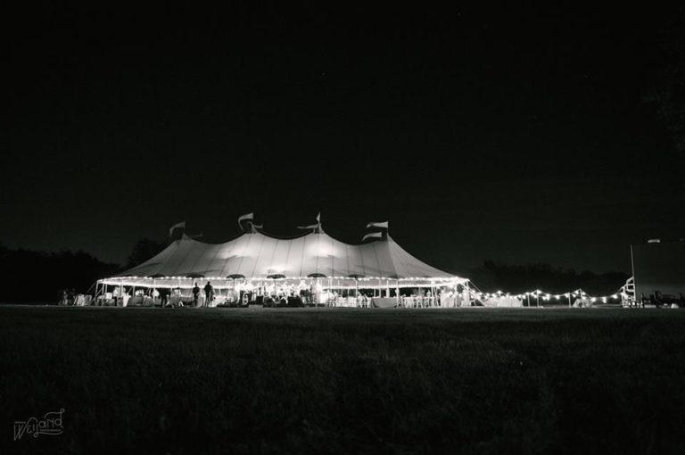 Bartow Tent Wedding A Chair Affair night