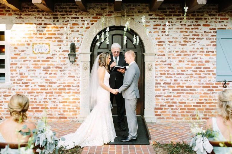 Casa Feliz Wedding A Chair Affair ceremony 2