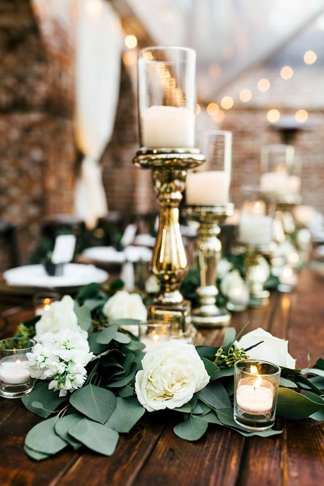 Casa Feliz Wedding A Chair Affair mahogany tables 2