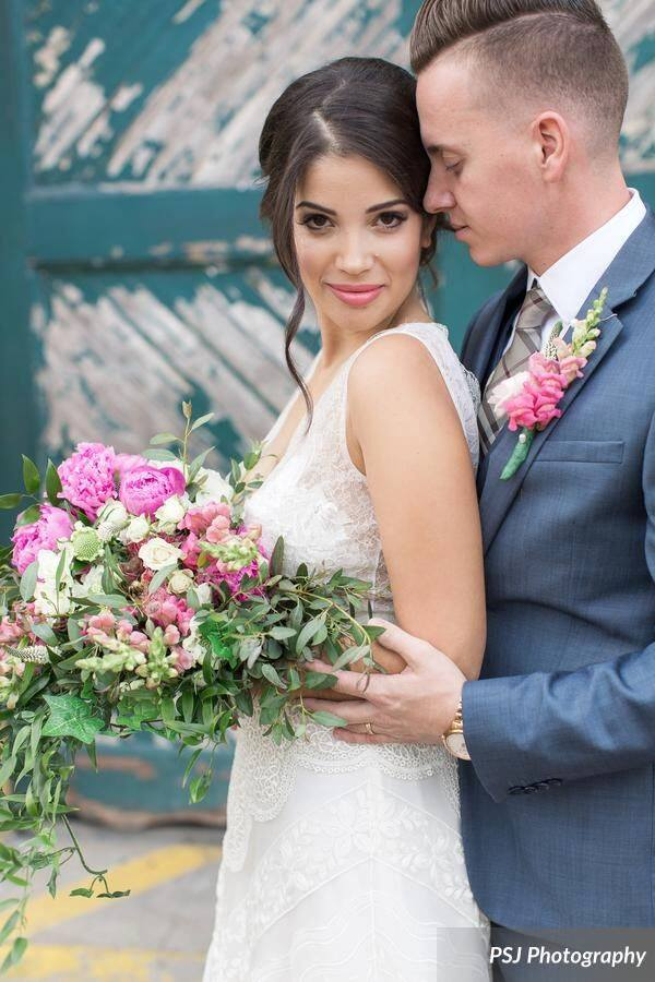 Downtown Deland Wedding Shoot A Chair Affair couple