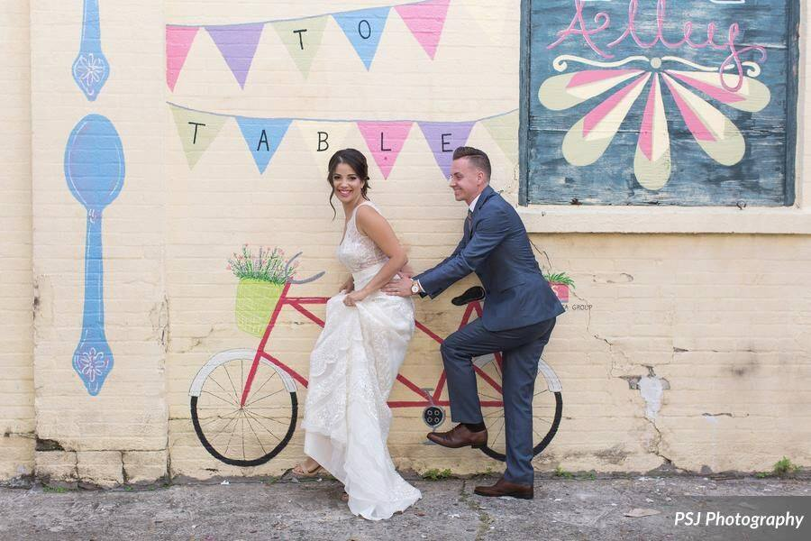 Downtown Deland Wedding Inspiration Photo Shoot A Chair Affair Inc