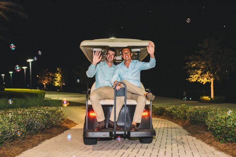 Hilton Orlando Bonnet Creek Wedding A Chair Affair farewell