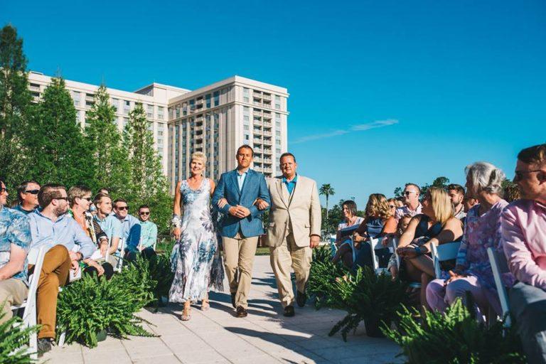 Hilton Orlando Bonnet Creek Wedding A Chair Affair folding chairs 1