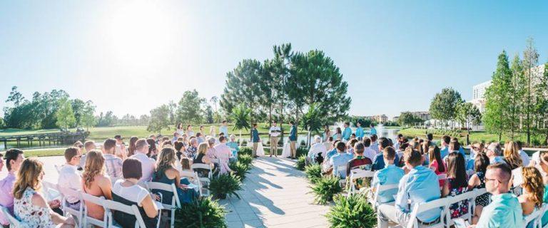 Hilton Orlando Bonnet Creek Wedding A Chair Affair folding chairs 4