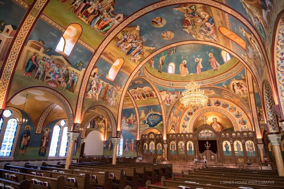 Holy Trinity Greek Orthodox Church Wedding A Chair