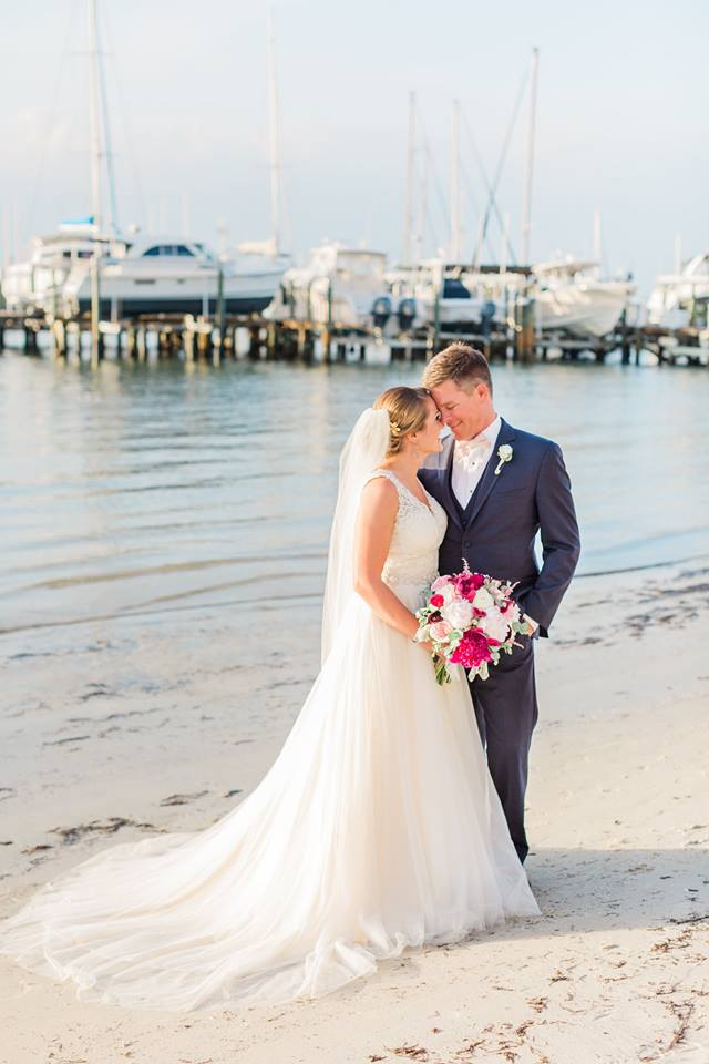 Isla Del Sol Yacht Club Wedding A Chair Affair bride groom