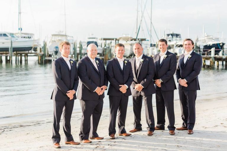 Isla Del Sol Yacht Club Wedding A Chair Affair groomsmen