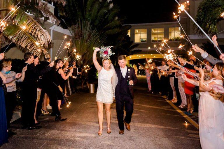 Isla Del Sol Yacht Club Wedding A Chair Affair newlyweds