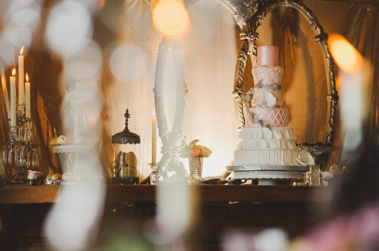 Labyrinth Inspired Wedding Shoot A Chair Affair cake 2