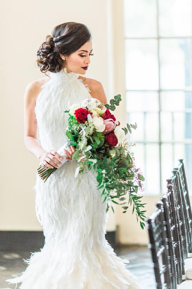 Lakeland Wedding Shoot A Chair Affair bride