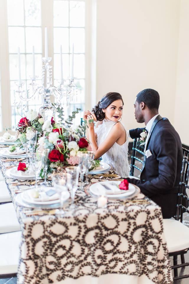 Terrace Hotel Lakeland Wedding Shoot - A Chair Affair, Inc.
