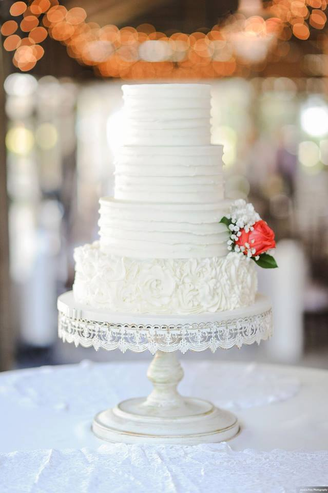 Paradise Cove Orlando Wedding A Chair Affair cake