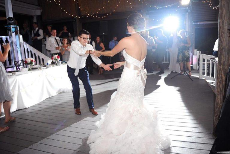 Paradise Cove Orlando Wedding A Chair Affair dancing