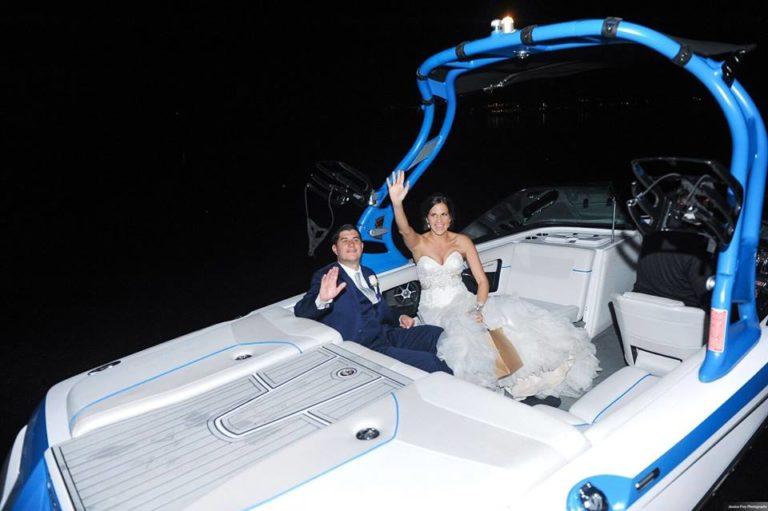 Paradise Cove Orlando Wedding A Chair Affair farewell