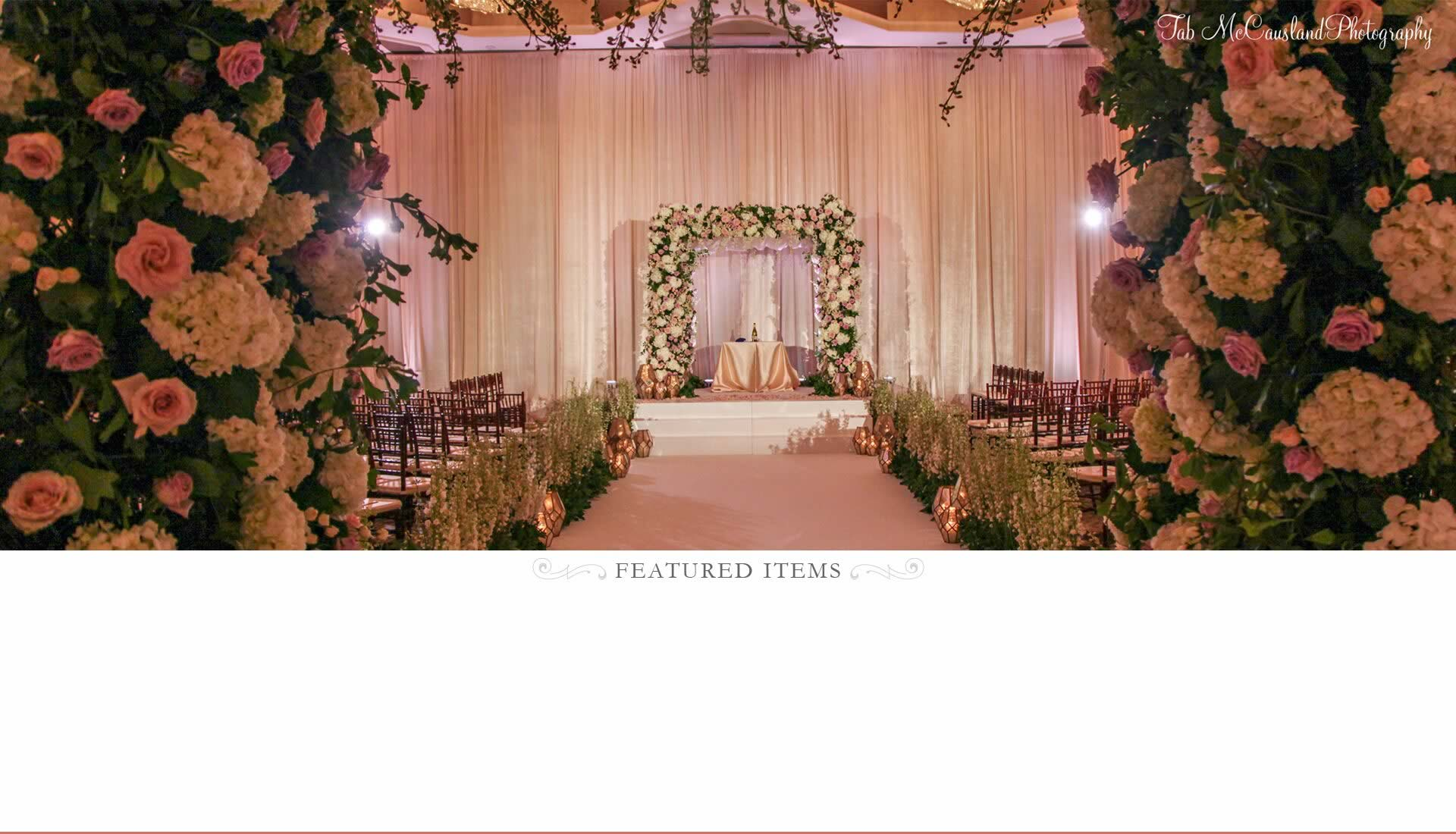 Wedding Ceremony Rentals - A Chair Affair Rentals