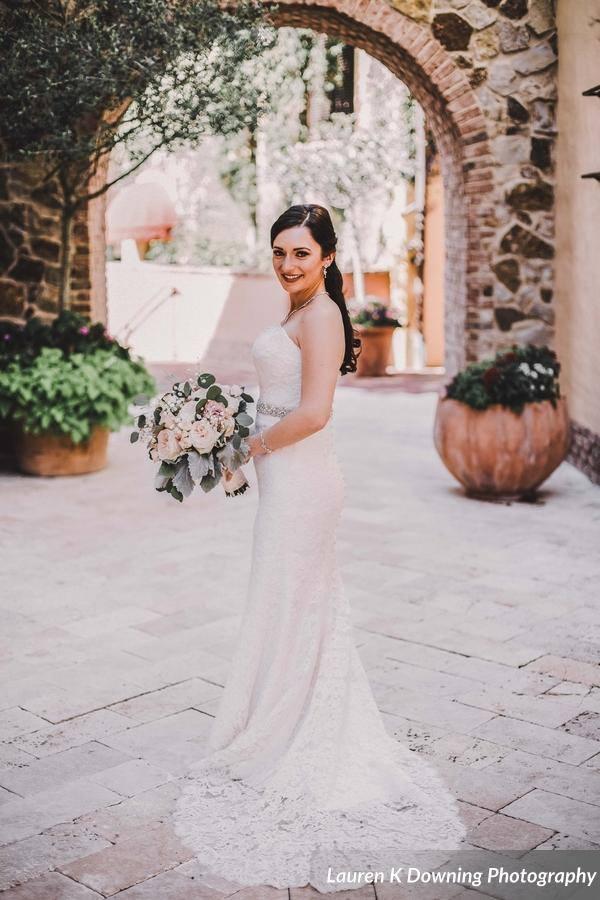 Bella Collina Wedding A Chair Affair bride 2