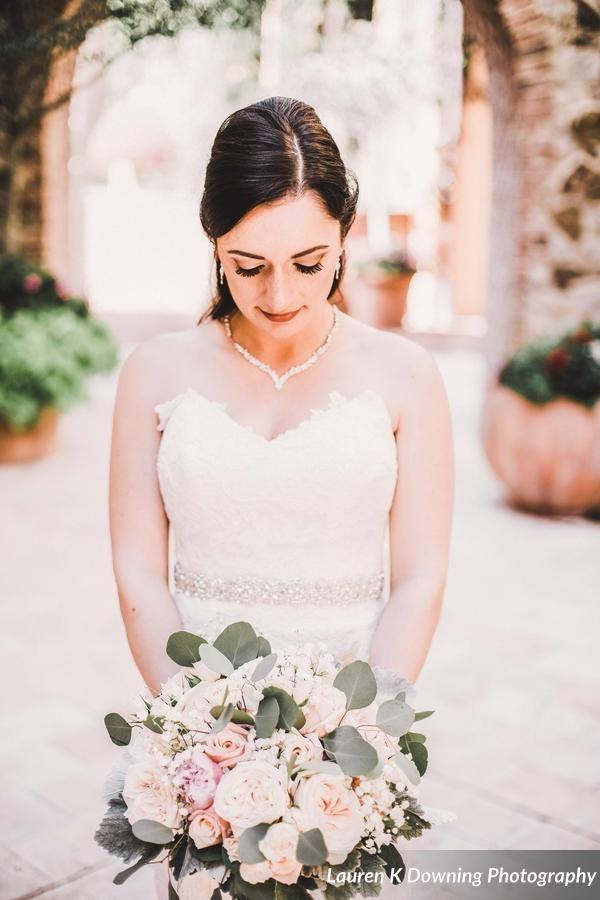 Bella Collina Wedding A Chair Affair bride