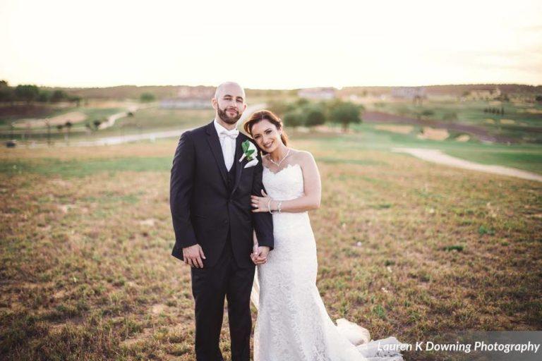 Bella Collina Wedding A Chair Affair couple