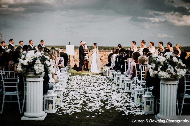 Bella Collina Wedding A Chair Affair white folding chairs 4