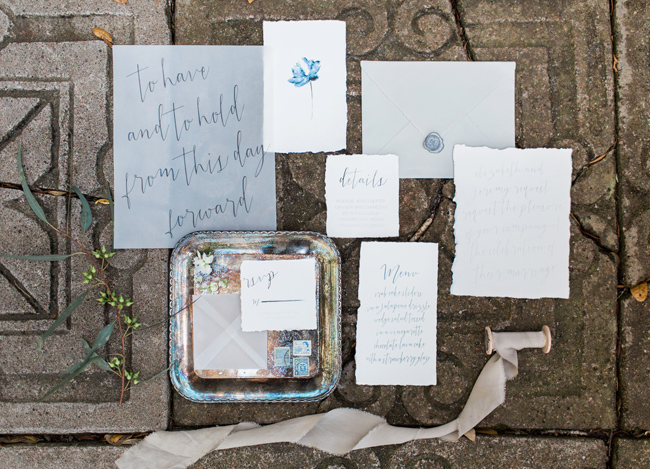 maitland art center wedding inspiration a chair affair stationery