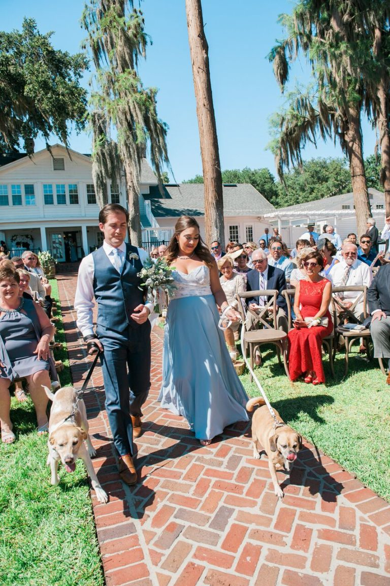Cypress Grove Estate summer wedding A Chair Affair ceremony 1
