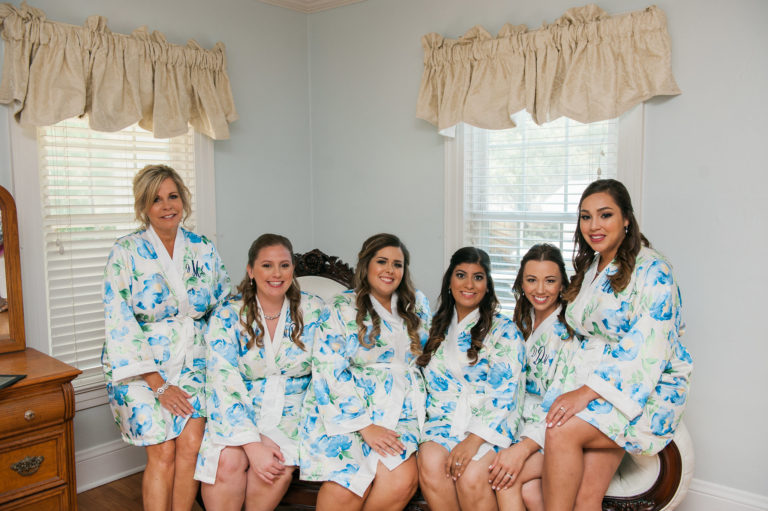 Cypress Grove Estate summer wedding A Chair Affair bridesmaids